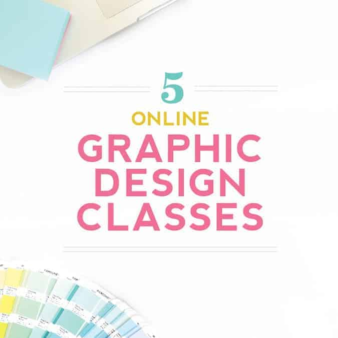 My Top 5 Online Graphic Design Classes