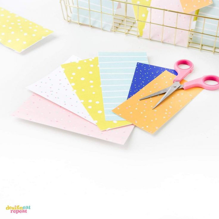 How To Make Colorful Printable Birthday Gift Tags