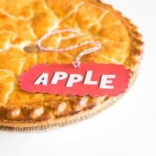 Free Printable Pie Tags!