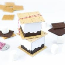 Free Printable S'more Treat Boxes