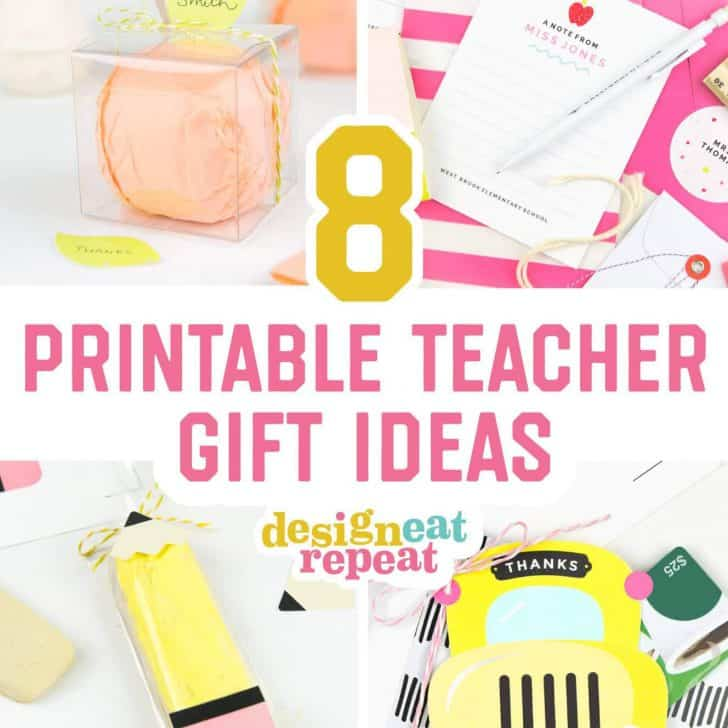 graphic regarding Printable Gifts identify Instructor Reward Programs - All Cost-free Printables In the direction of Deliver At House!