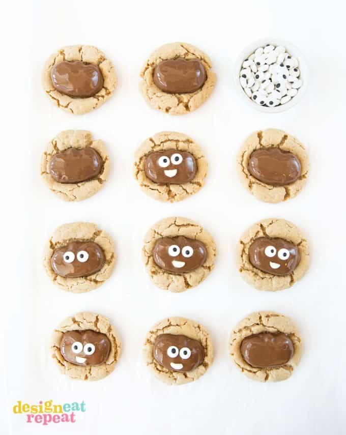 Reeses Pumpkin Peanut Butter Cookies!