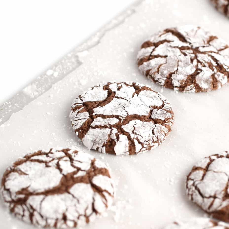 Brownie Chocolate Cookie - a favorite Christmas cookie recipe