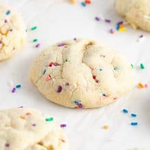 Soft-Baked Sugar Cookies with Sprinkles