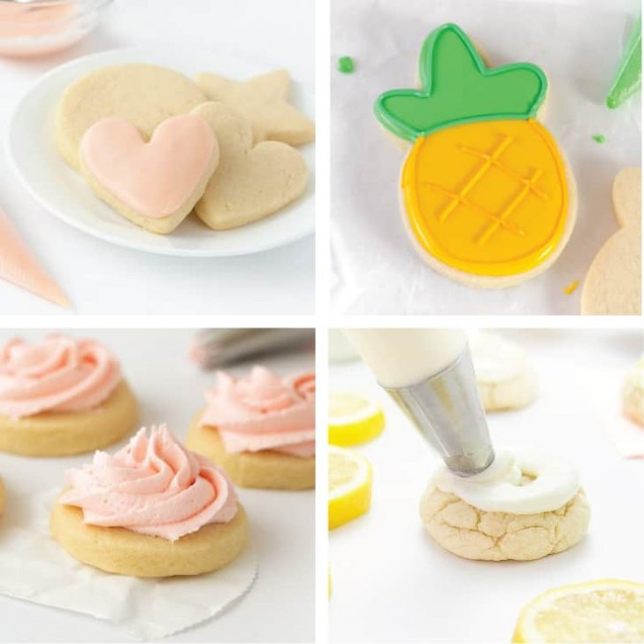 Sugar Cookie Icing Without Corn Syrup (4 Recipes)