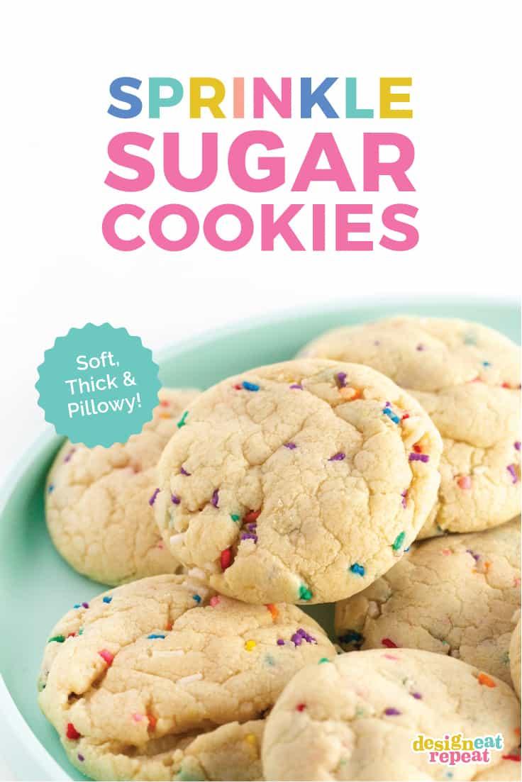 Soft-Baked Sugar Cookies with Sprinkles