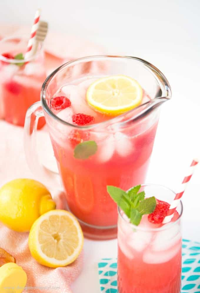 pureed raspberries to lemonade for a colorful and refreshing summer ...