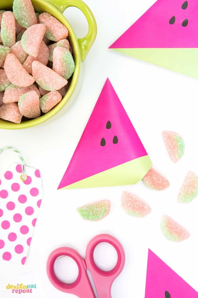 watermelon-party-favors-candy-pouches