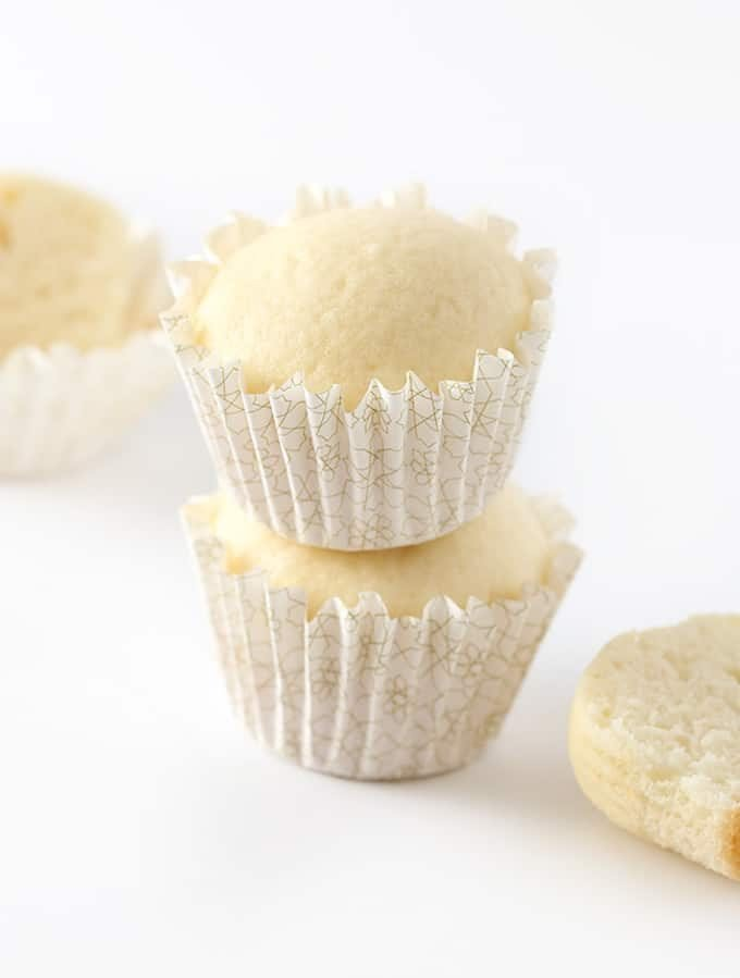 These white wedding cupcakes turn a boxed cake mix into the most amazing vanilla cupcakes you've ever had.